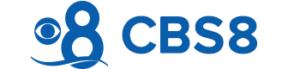 Logo for CBS 8