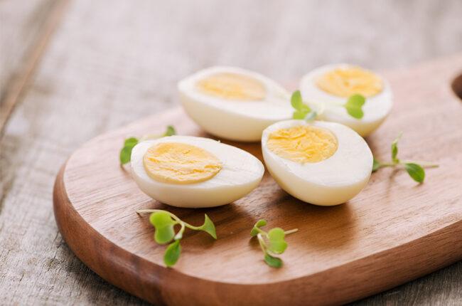 4 Boiled Eggs